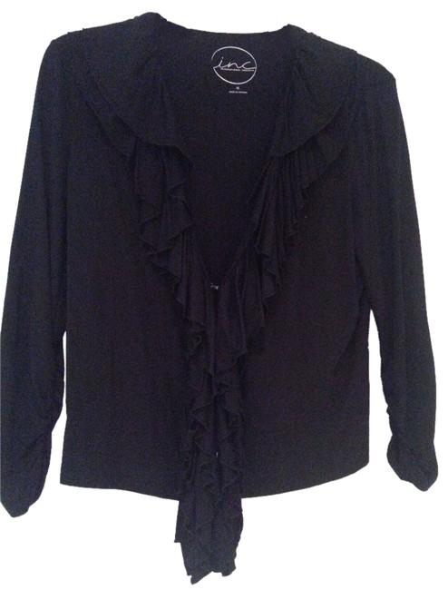Preload https://item2.tradesy.com/images/inc-international-concepts-black-new-cardigan-size-8-m-3636946-0-0.jpg?width=400&height=650