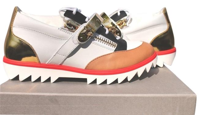 Item - White/Gold Rds475 51407 Sneakers Size US 9 Regular (M, B)