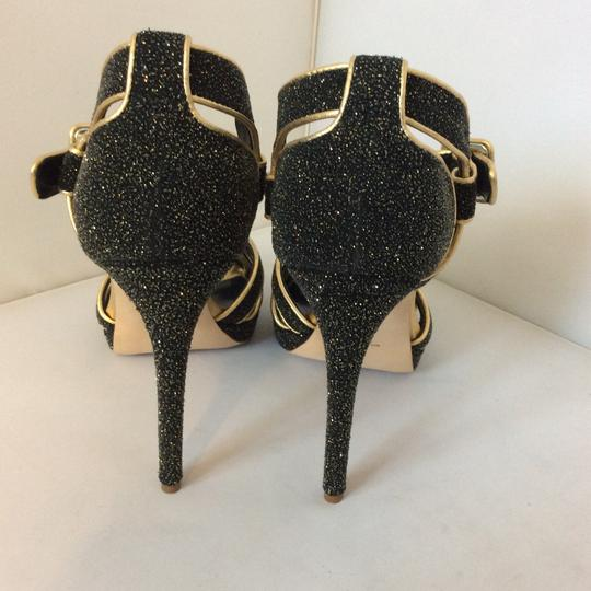 Rupert Sanderson Sting Ray Black Sandals