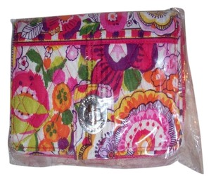 Vera Bradley NWT Clementine Vera Bradley Turn lock wallet Pink Yellow Orange