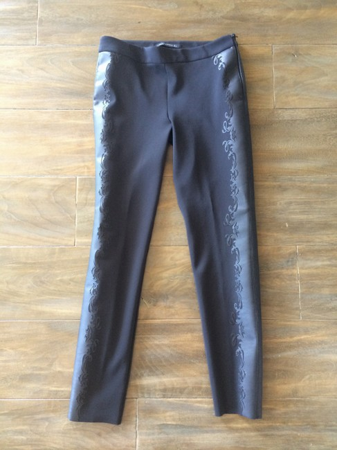 Zara Skinny Pants Black