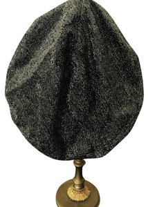 Other Hollywood Glam Girl Silver Lame' Beret Hat