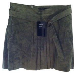 L.A.M.B. Skirt Leather