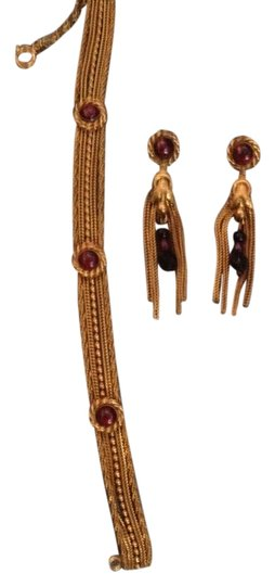 Pierre Lorion Brand new NEVER WORN Exquisite Jewelry set, comes in the Saks Fifth Ave, box it came in.