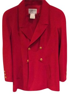 Chanel Red Blazer