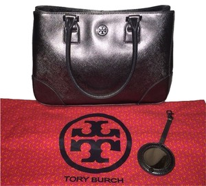 Tory Burch Satchel in Metallic