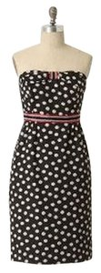Maeve short dress Navy & White Polka Dot Retro Rockabilly on Tradesy