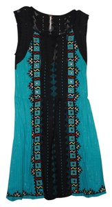 Free People short dress Tribal Aztec on Tradesy