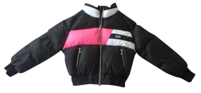 Other Cb Sports Puffer Jacket Hot Pink Cropped Small New Coat