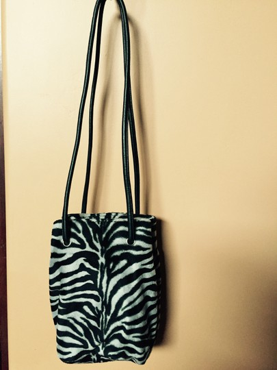 Nine West Zebra Faux Fur Hobo Bag