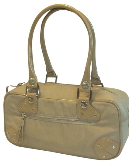 Preload https://item3.tradesy.com/images/missoni-beige-nylon-with-leather-trim-satchel-3641737-0-0.jpg?width=440&height=440