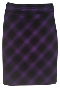 The Limited Skirt Black & Purple