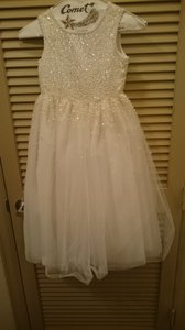 Tiffany Designs White/ivory 3103 Dress