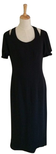Preload https://item2.tradesy.com/images/chanel-black-vintage-80-s-from-boutique-long-night-out-dress-size-8-m-364236-0-0.jpg?width=400&height=650
