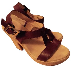 Michael Kors Cognac Brown Wedges