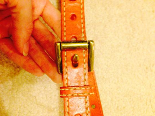 Michael Kors MICHAEL Michael Kors womans orange studded belt L
