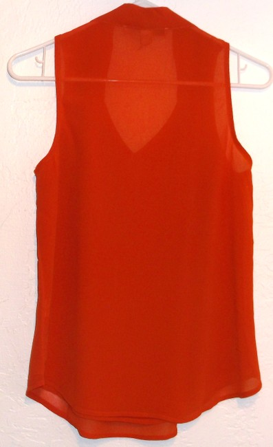 Forever 21 Top Dark Orange
