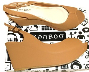 Bamboo Camel Wedges