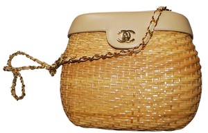 Chanel Wicker Basket Wicker Basket Cross Body Bag