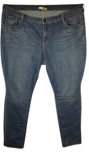 Old Navy Plus-size Straight Leg Jeans-Light Wash