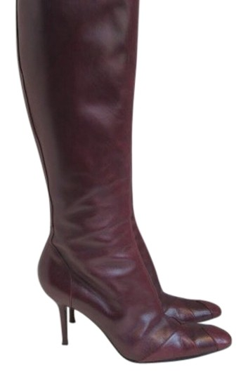 Dolce&Gabbana oxblood red Boots