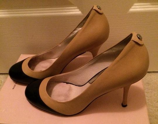 Michael Kors Nude/black Pumps