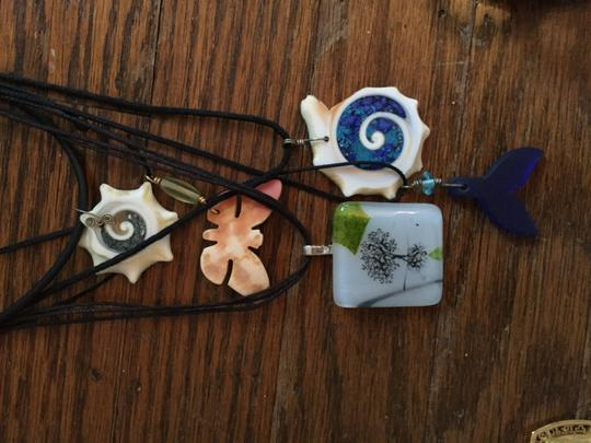 Other Set of 5 Pendant Necklaces