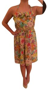 Liberty of London for Target short dress Multi Color Halter Neon Pattern on Tradesy