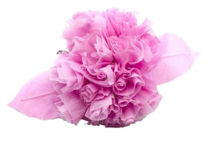 Chanel Chanel Ruffle Floral Brooch