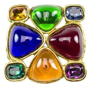 Chanel Chanel Poured Glass Brooch