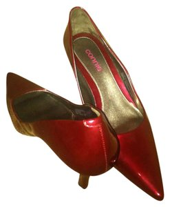 Connie Pointed Toe Burgundy Pumps