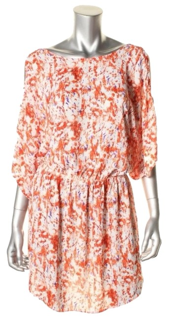 Preload https://img-static.tradesy.com/item/3647305/aqua-orange-above-knee-short-casual-dress-size-2-xs-0-0-650-650.jpg