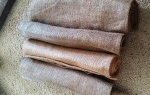 Plain Burlap Table Runners
