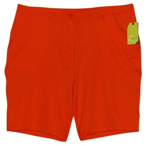 Emerald 18 Golf Orange Shorts