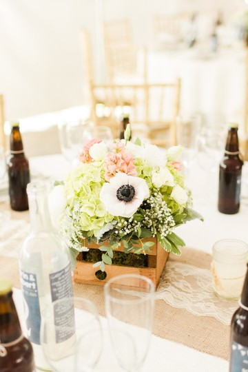Wine Bottle Candle Table Numbers With Chalkboard Labels