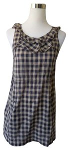 Edme & Esyllte Anthropologie Plaid Checkered Tunic