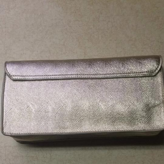 Victoria's Secret Gold Metallic Clutch