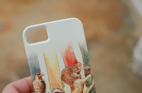 Society6 Harry Potter case for iPhone 5