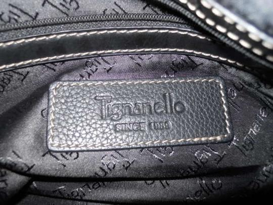 Tignanello Leather Tote in black