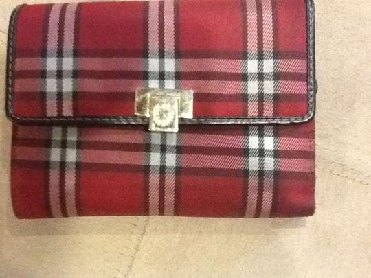 Liz Claiborne Red Plaid Tartan Print