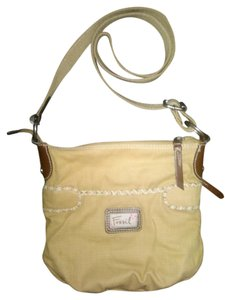 Fossil Canvas Canvas Cross Body Bag