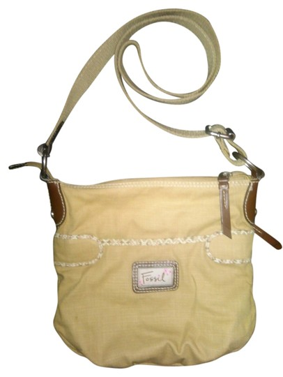 Preload https://item5.tradesy.com/images/fossil-brown-canvas-cross-body-bag-3648619-0-0.jpg?width=440&height=440