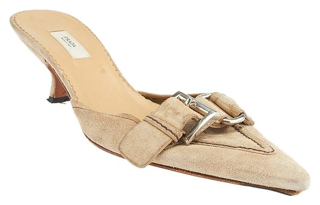 Item - Taupe 36.5 (45672) Mules/Slides Size US 6
