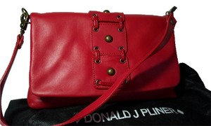 Donald J. Pliner Clutch Removable Strap Shoulder Bag