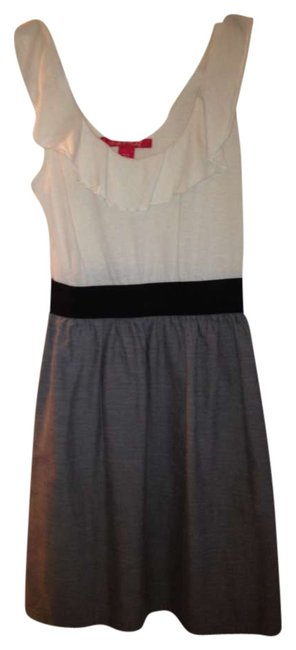Zoey & Beth short dress Cream/black/grey on Tradesy
