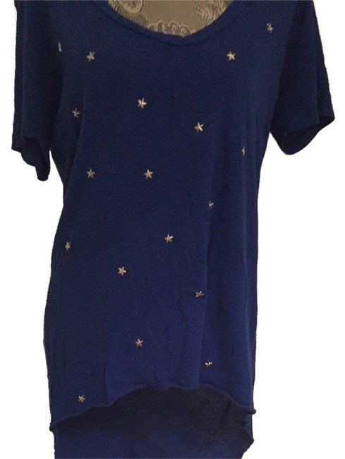 Emma & Sam T Shirt Royal blue