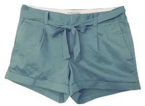 Banana Republic Cuffed Shorts Teal
