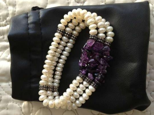 Honora Genuine Freshwater Pearl and Amethyst
