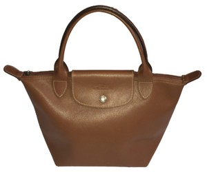 Longchamp Modele Depose Purse Tote in Brown