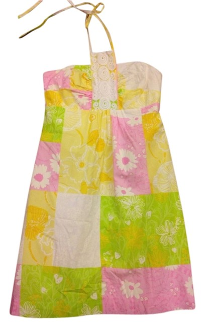 Lilly Pulitzer short dress Multi Patch on Tradesy